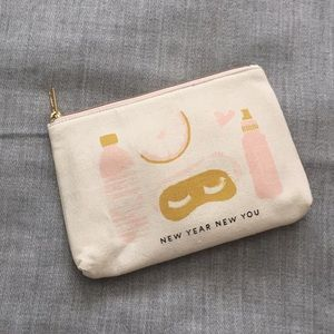 Anthropologie beauty makeup bag/pouch